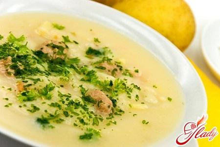 recipe for chicken soup puree