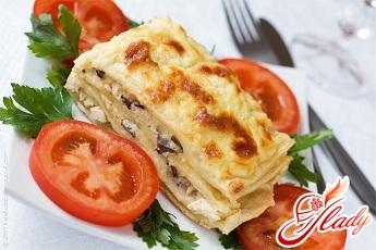 lasagna with chicken
