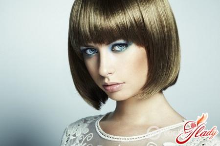 hair laminating effect
