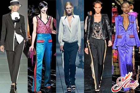 stylish pants with stripes