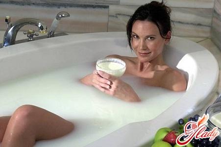 baths with soda