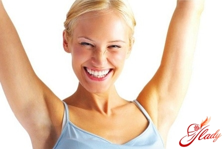 treatment of sweating of the armpits