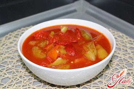 different recipes lecho