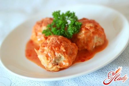 lazy cabbage rolls in a saucepan