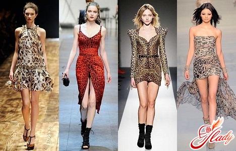 леопардові сукні 2011