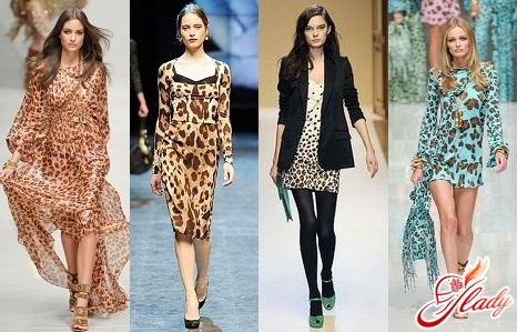 плаття леопардового забарвлення