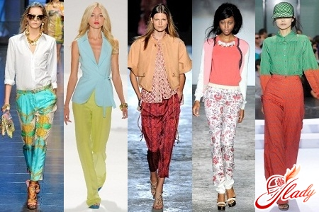 жіночі літні брюки