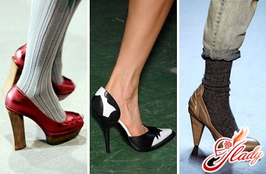 класичні туфлі човники