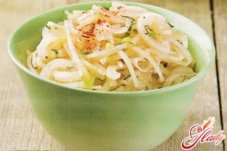 recipe onion salad