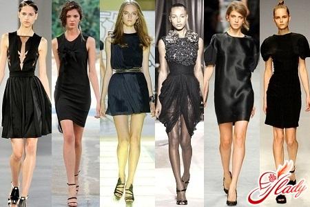 маленькі чорні сукні фото