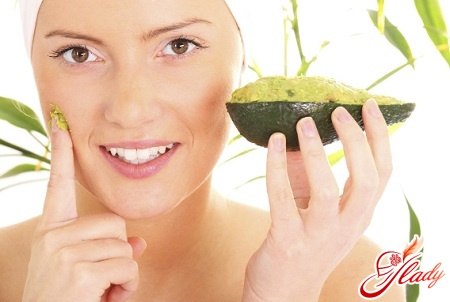 mask of avocado for face