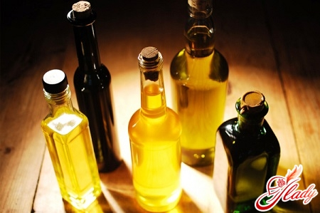 different oils for the tips of hair
