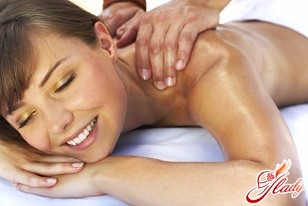 A lack of tactile sensations compensates for the massage