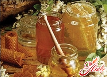treatment of the liver with honey