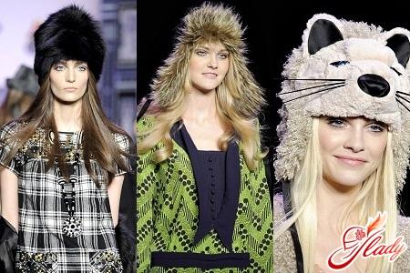 women's fur caps