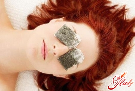 how to get rid of bags under the eyes at home