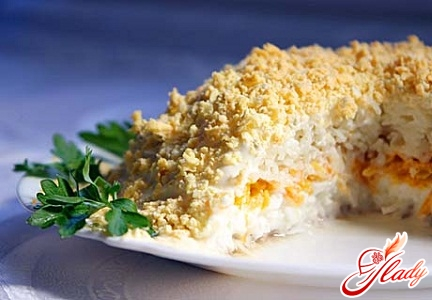 salad mimosa recipe