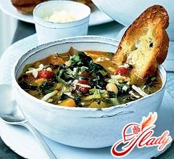 soup minestrone recipe