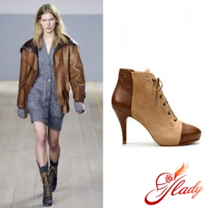 Photo from the show Reed Krakoff; Boots Zara, 4399 rub.