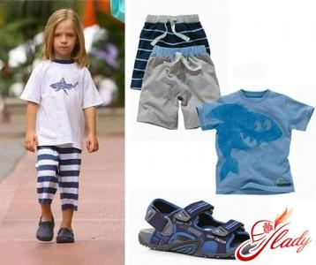 Summer wardrobe for babies
