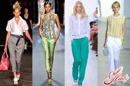 літні брюки жіночі