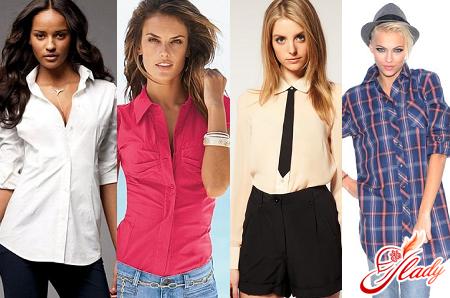 fashionable women's shirts