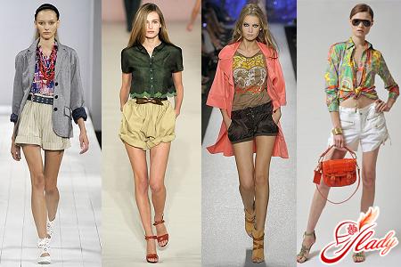 модні шорти
