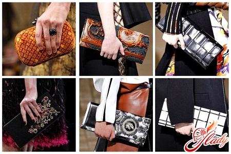 fashionable women's clutch