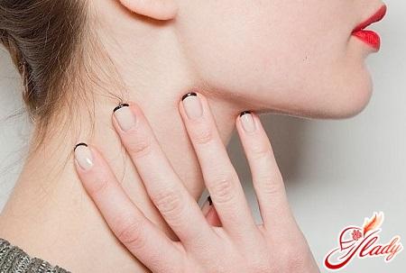 European fashion manicure