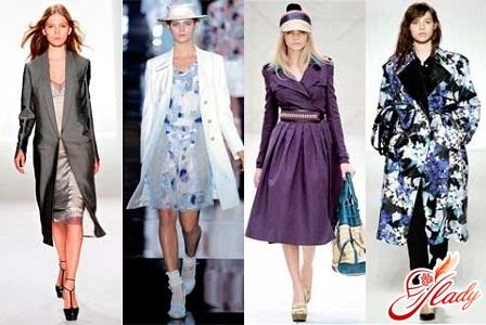 модні шкіряні плащі колекція весна 2012