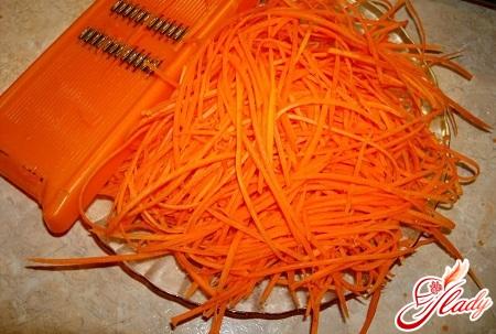 різні рецепти моркви по - корейськи