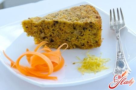 морквяний кекс рецепт