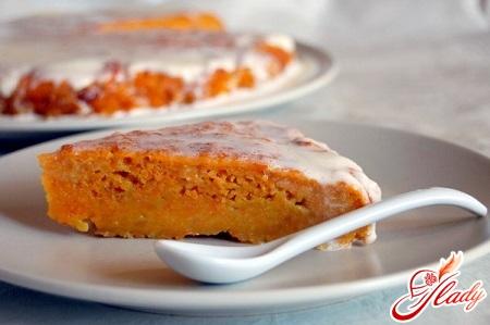пиріг морквяний