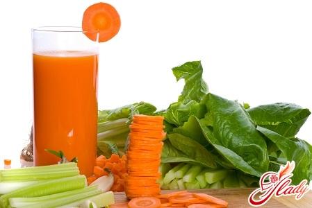 морквяний сік для засмаги