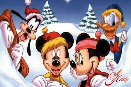 Overseas New Year's cartoons