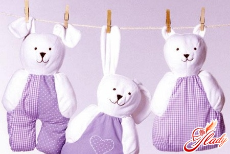 sew a soft toy with your own hands