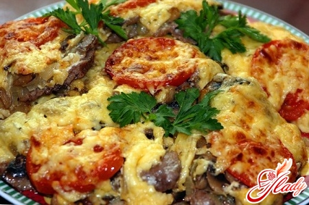 recipe meat in French with potatoes