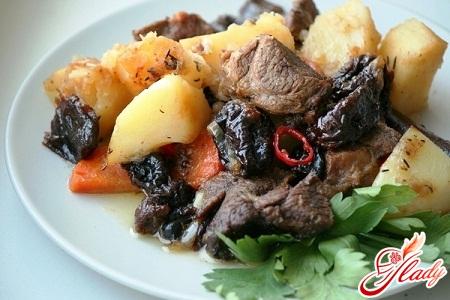 recipe meat with prunes