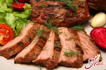 baked meat in foil