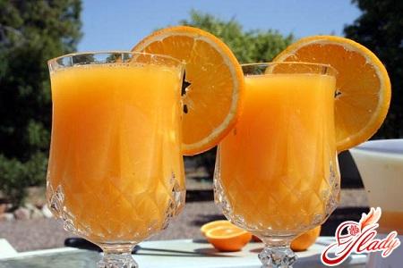 drink from frozen oranges