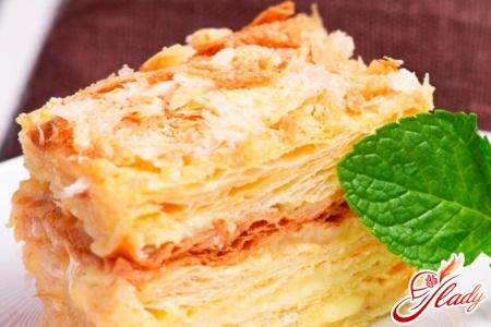 recipe for napoleon with condensed milk