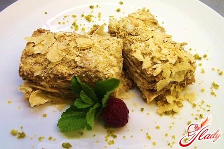 cake Napoleon classic recipe