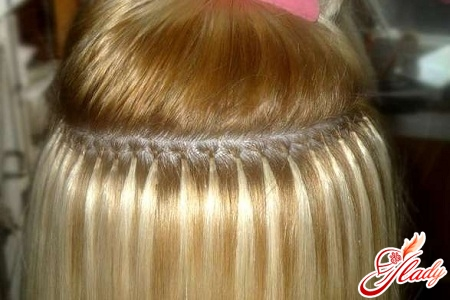 capsular hair extensions at home