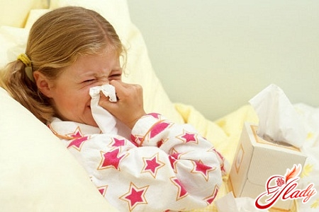 treatment of common cold in children with folk remedies