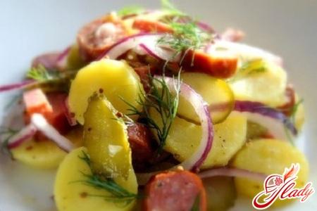 салат картопляний німецький