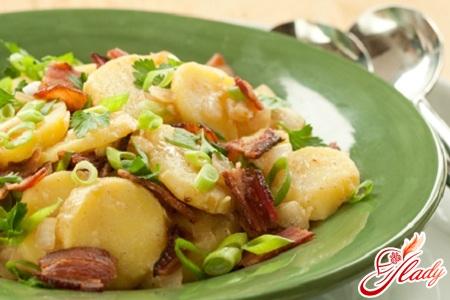 картопляний салат німецький