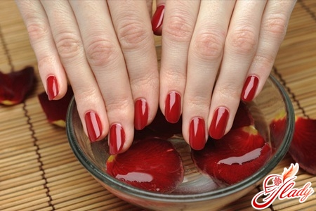 Salon procedures for nail care