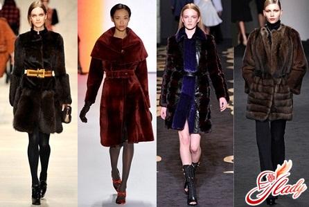women's fur coat mink