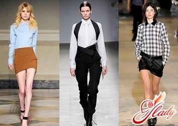 styles of women's blouses