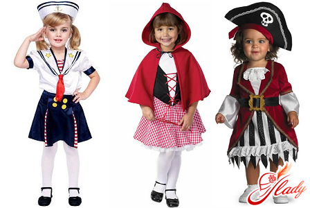 New Year costumes for girls with their own hands